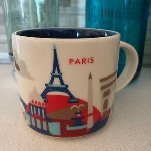 starbucks you are here mug - paris